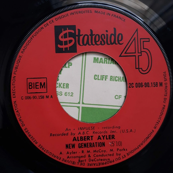 Stateside 45rpm A